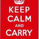 Keep Calm Parking Sign