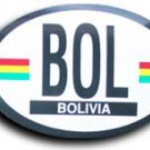 Bolivia Oval decal