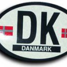 Denmark Oval decal