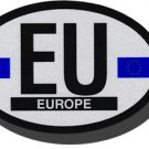 European Union Oval decal