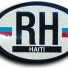 Haiti Oval decal