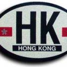 Hong Kong Oval decal