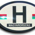 Hungary Oval decal