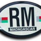 Madagascar Oval decal