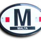 Malta Oval decal