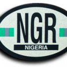Nigeria Oval decal