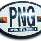 Papua New Guinea Oval decal