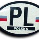 Poland Oval decal