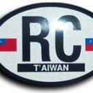 Taiwan Oval decal