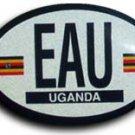 Uganda Oval decal