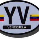 Venezuela Oval decal