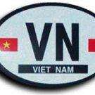 Vietnam Oval decal