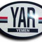 Yemen Oval decal