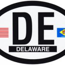 Delaware Oval decal