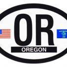 Oregon Oval decal