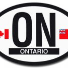 Ontario Oval decal