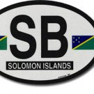 Solomon Islands Oval decal
