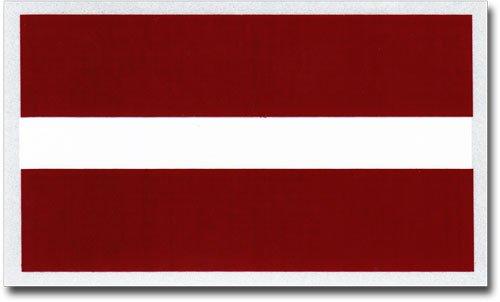 Latvia Auto Decal