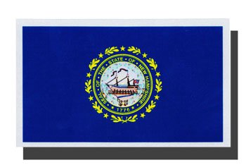 New Hampshire Auto Decal