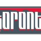 FC Toronto Bumper Sticker