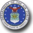 "Air Force - 2.75"""" Circular Domed Sticker"
