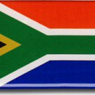 South Africa Domed Sticker