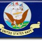 Navy Domed Sticker