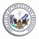 "Arkansas - 3.5"""" State Seal Decal"