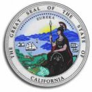 "California - 3.5"""" State Seal"