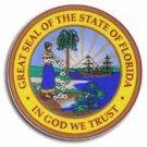 """Florida - 3.5"""""""" State Seal"""