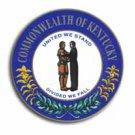 """Kentucky - 3.5"""""""" State Seal"""