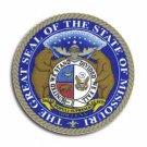 "Missouri - 3.5"""" State Seal"