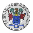 """New Jersey - 3.5"""""""" State Seal"""