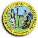 "North Carolina - 3.5"""" State Seal"