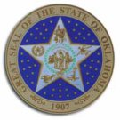 "Oklahoma - 3.5"""" State Seal"