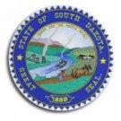 """South Dakota - 3.5"""""""" State Seal"""