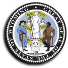 "Wyoming - 3.5"""" State Seal"