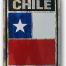 Chile Reflective Decal
