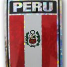 Peru Reflective Decal