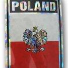 Poland Reflective Decal (Eagle)