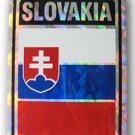 Slovakia Reflective Decal