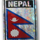 Nepal Reflective Decal