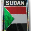 Sudan Reflective Decal