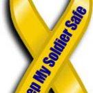 Keep My Soldier Safe Magnet