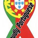 "Portugal Magnet - 4"""" x 8"""" Ribbon Magnet"
