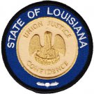 Louisiana Circular Patch