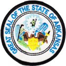 Arkansas Circular State Seal Patch