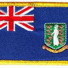 British Virgin Islands Rectangular Patch