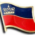 Liechtenstein Flag Lapel Pin