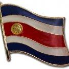 Costa Rica Flag Lapel Pin